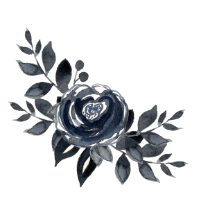 Ive Got A New Freebie For You Guys To Play With Its Floral Watercolor Bouquet In Paynes Gray And Comes As Png Transparent Background