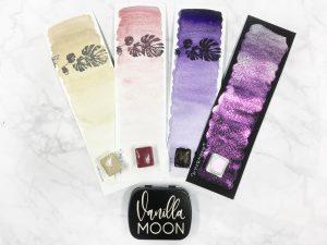 Vanilla moon watercolor set