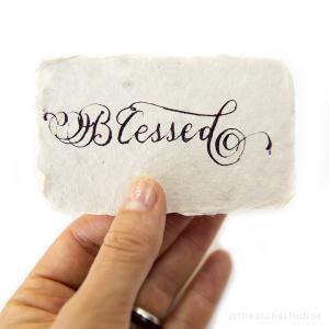 tas calligr blessed no17