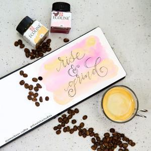 tas rise-grind coffeeart