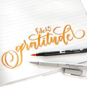 tas tombow gratitude